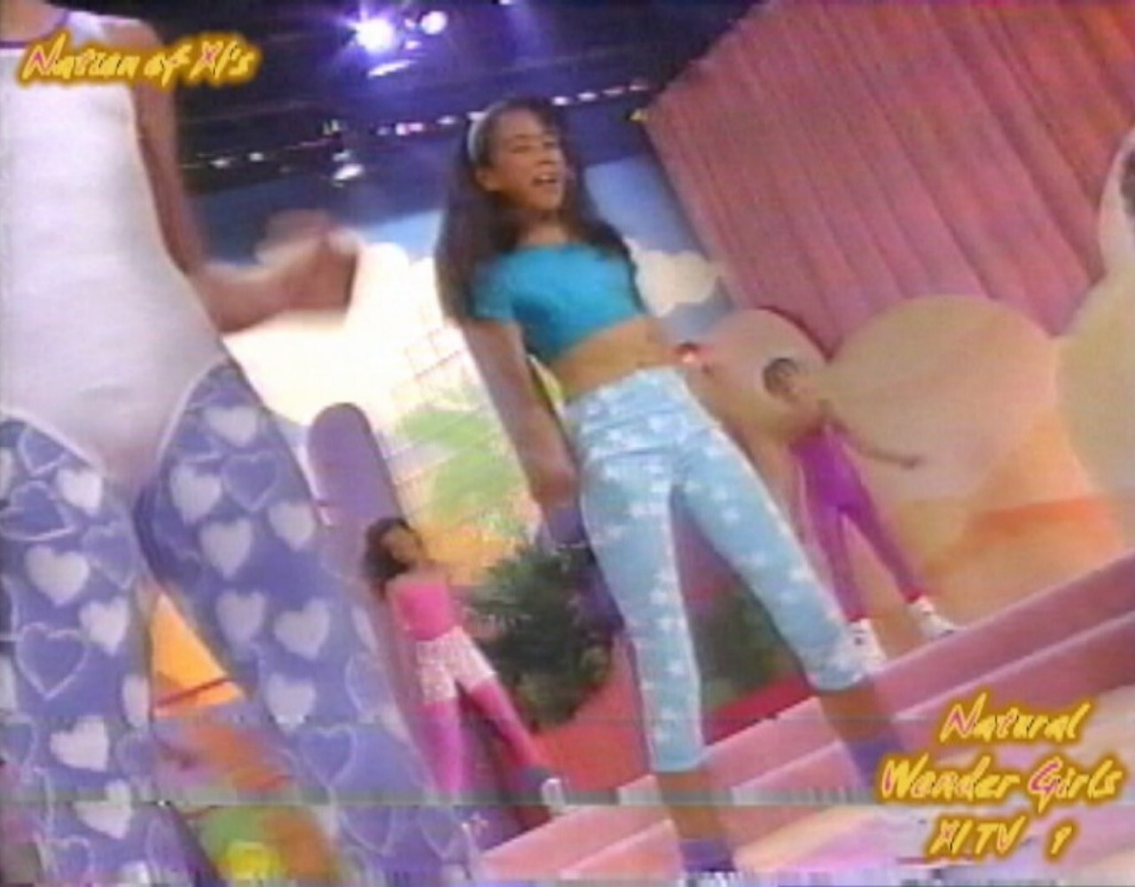 "Natural Wonder Girls! Dance Workout! ""Barbie Gets Nine Inch Nailed!"""